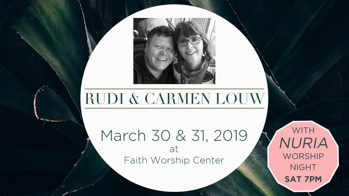 Rudi & Carmen Louw Conference