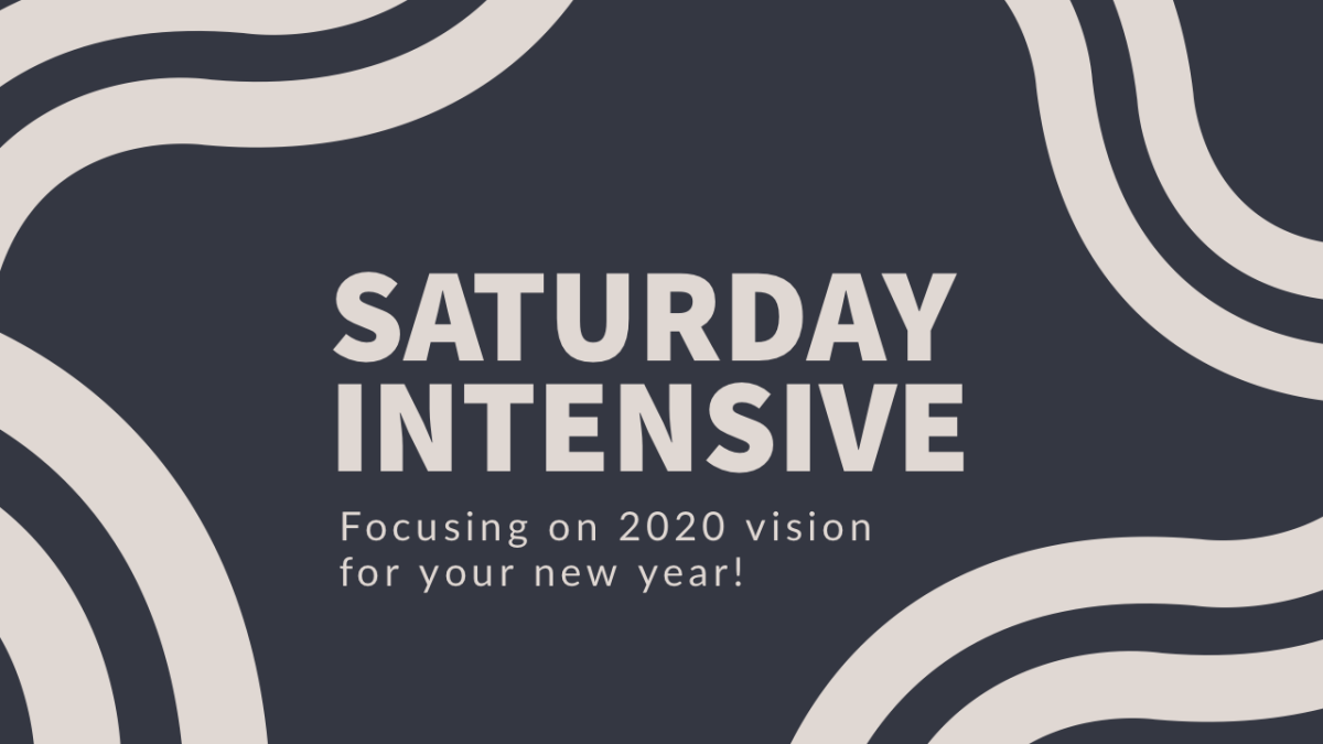 Saturday Intensive | 2020 Vision for Women