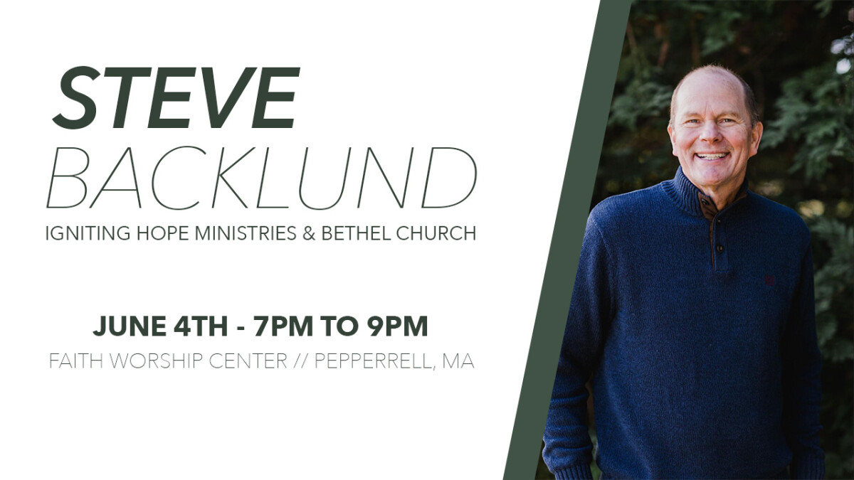An Evening with Steve Backlund